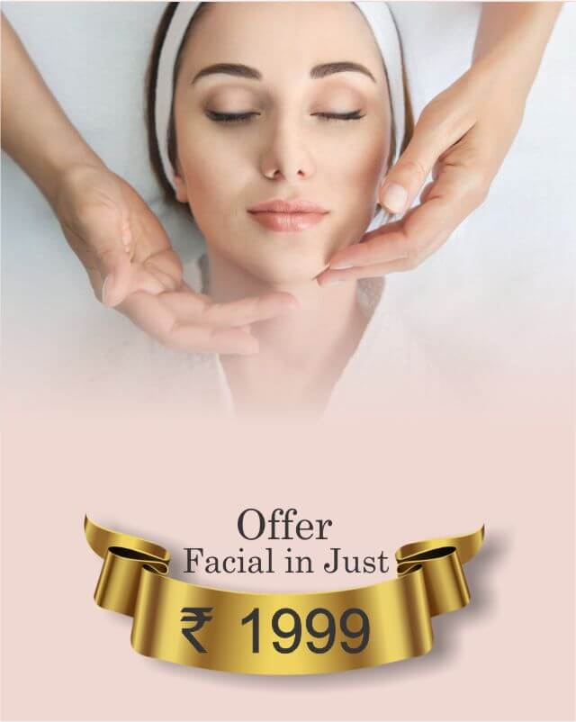 Facial offer at just 1999 rs. given by dr. jangid at SkinQure