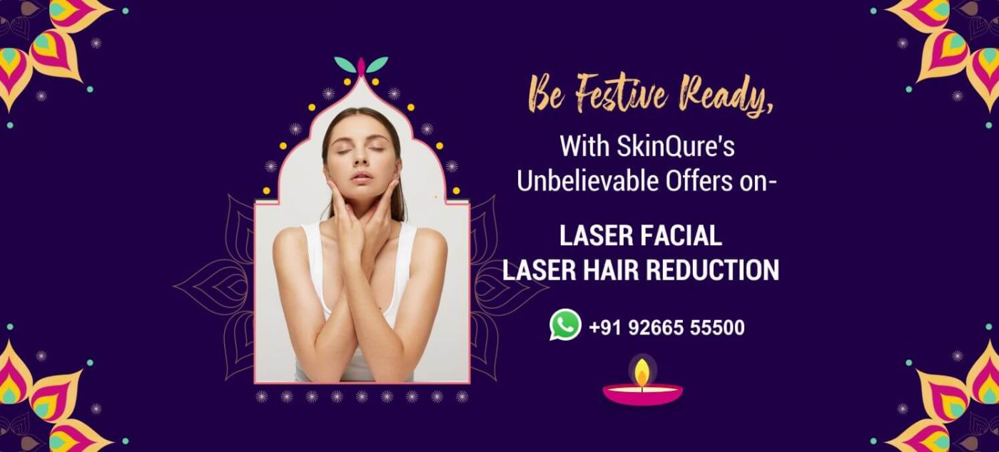 Diwali offer with SkinQure Clinic